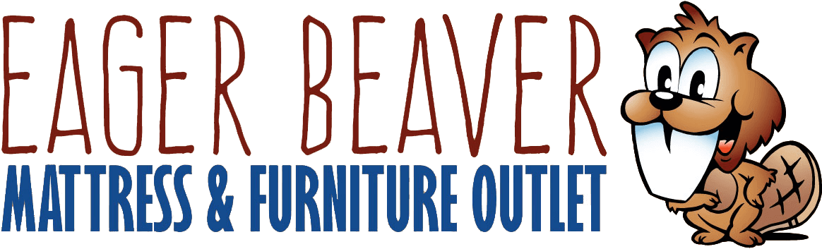 Eager Beaver Mattress and Furniture Outlet Logo